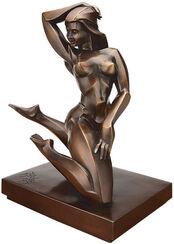 """Sculpture """"Orchidee"""", bronze"""
