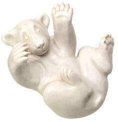 "Sculpture ""Bear Cubs"", Version in Artificial Stone"
