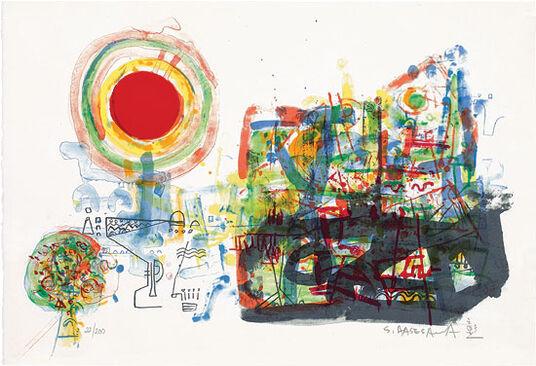 """Shoichi Hasegawa: Bild """"Aube"""" (2013), ungerahmt"""