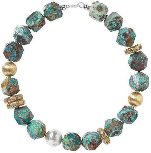 "Anna Mütz: Pearl necklace ""Rhyolites"""