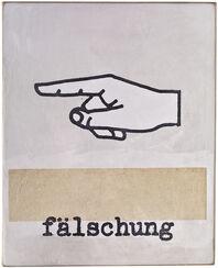 """Objekt """"Fälschung"""" (2017) (Unikat)"""