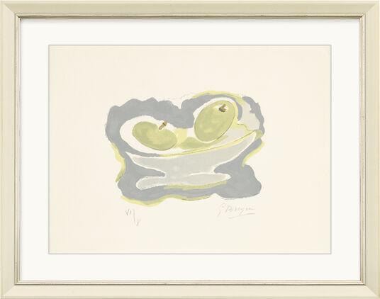 """Georges Braque: Bild """"Nature morte les Pommes"""" (1962)"""