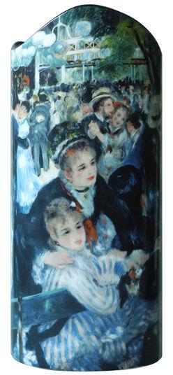 "Auguste Renoir: Keramikvase ""Ball im Moulin de la Galette"" (1876)"