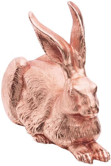 """Ottmar Hörl: Skulptur """"Dürer-Hase"""" (2012), Version Zinn rosévergoldet"""