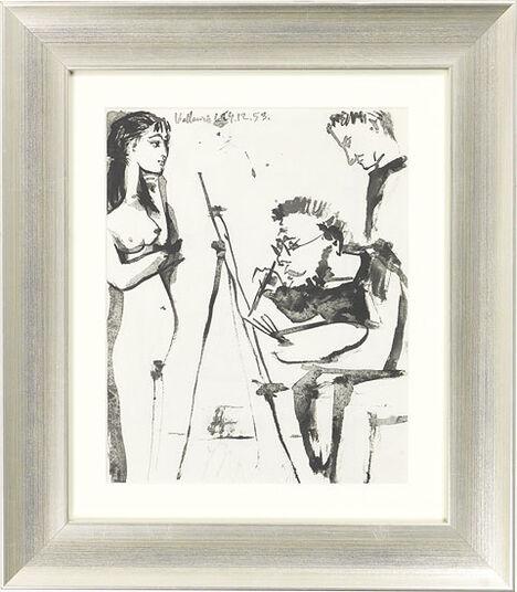 """Pablo Picasso: Bild """"Ohne Titel"""", gerahmt"""
