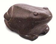 """Gewichtsstein """"Babylonischer Frosch"""", Kunstguss"""