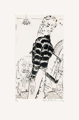 """Bild """"Kunstkauf"""" (1927)"""