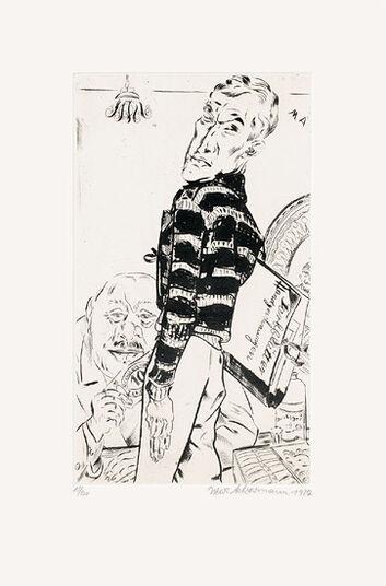 """Max Ackermann: Bild """"Kunstkauf"""" (1927)"""