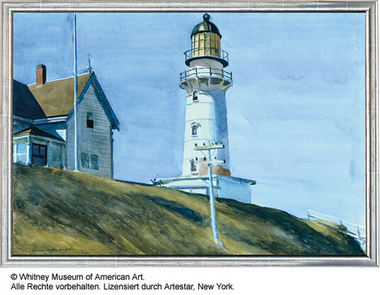 """Edward Hopper: Painting """"Lighthouse at Two Lights"""""""