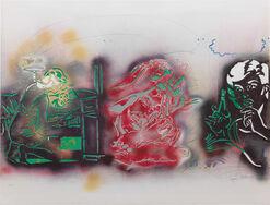"""Bild """"Samson & Delilah"""" (1989)"""