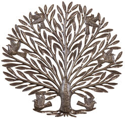 "Wall Object ""Tree of Life"", Iron"