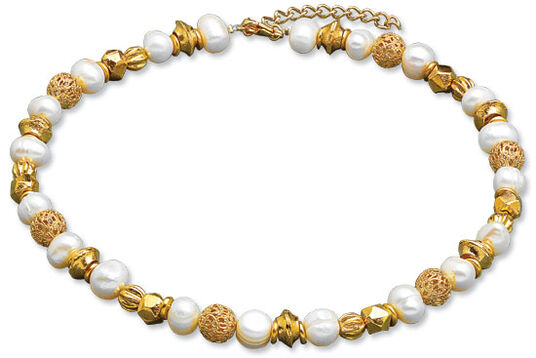 "Petra Waszak: Necklace ""Pearls of the Renaissance"""