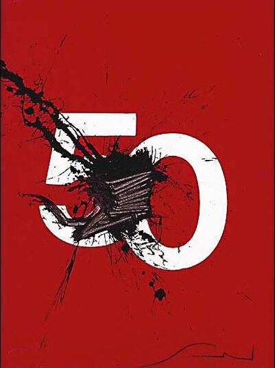 """Emilio Scanavino: Bild """"Il Numero 50"""", ungerahmt"""