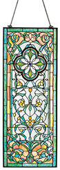"Tiffany Window Picture ""Floral Ornaments"""