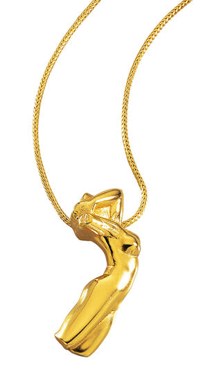"Christiane Wendt: Necklace ""Torso of Adele ""- by Auguste Rodin"
