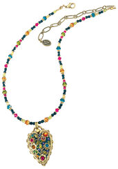 "Necklace ""Multi Flower Crystal"""