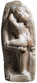 "Relief ""Mithuna Love Pair"", polymer cast"
