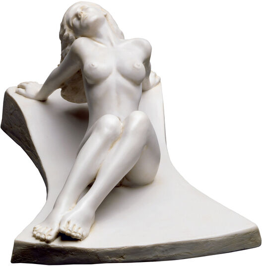 "Peter Hohberger: Skulptur ""Euphrosyne"", Version in Kunstmarmor"