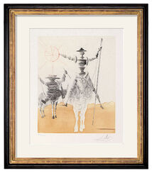 "Bild ""Don Quichotte & Sancho Pança"" (1968/80)"