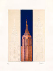 "Bild ""New York - Empire State Building"", ungerahmt"