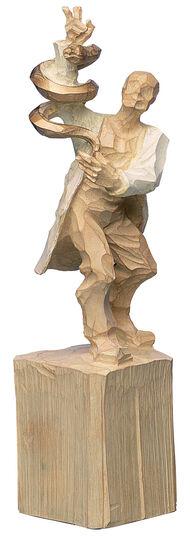 "Roman Johann Strobl: Sculpture ""Doctor"""