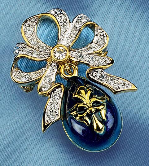 """Russian tsar egg brooch """"Anastasia"""""""