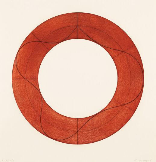 """Robert Mangold: Bild """"Ring Image A"""" (2008)"""