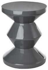 "Stool/Side Table ""Modern Grey"""