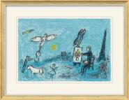 """Bild """"Der Maler und sein Abbild"""" (1981)"""