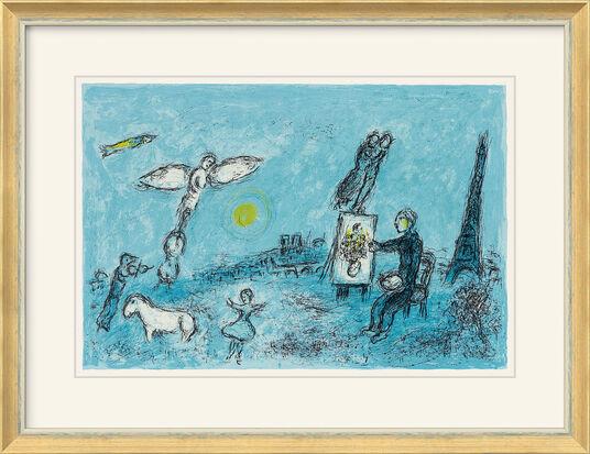 """Marc Chagall: Bild """"Der Maler und sein Abbild"""" (1981)"""