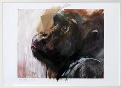 "Bild ""Gorilla 2"" (2017) (Unikat)"