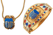 Tutankhamun's Scarab jewel