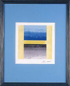 "Picture ""La Lettera H"" framed"