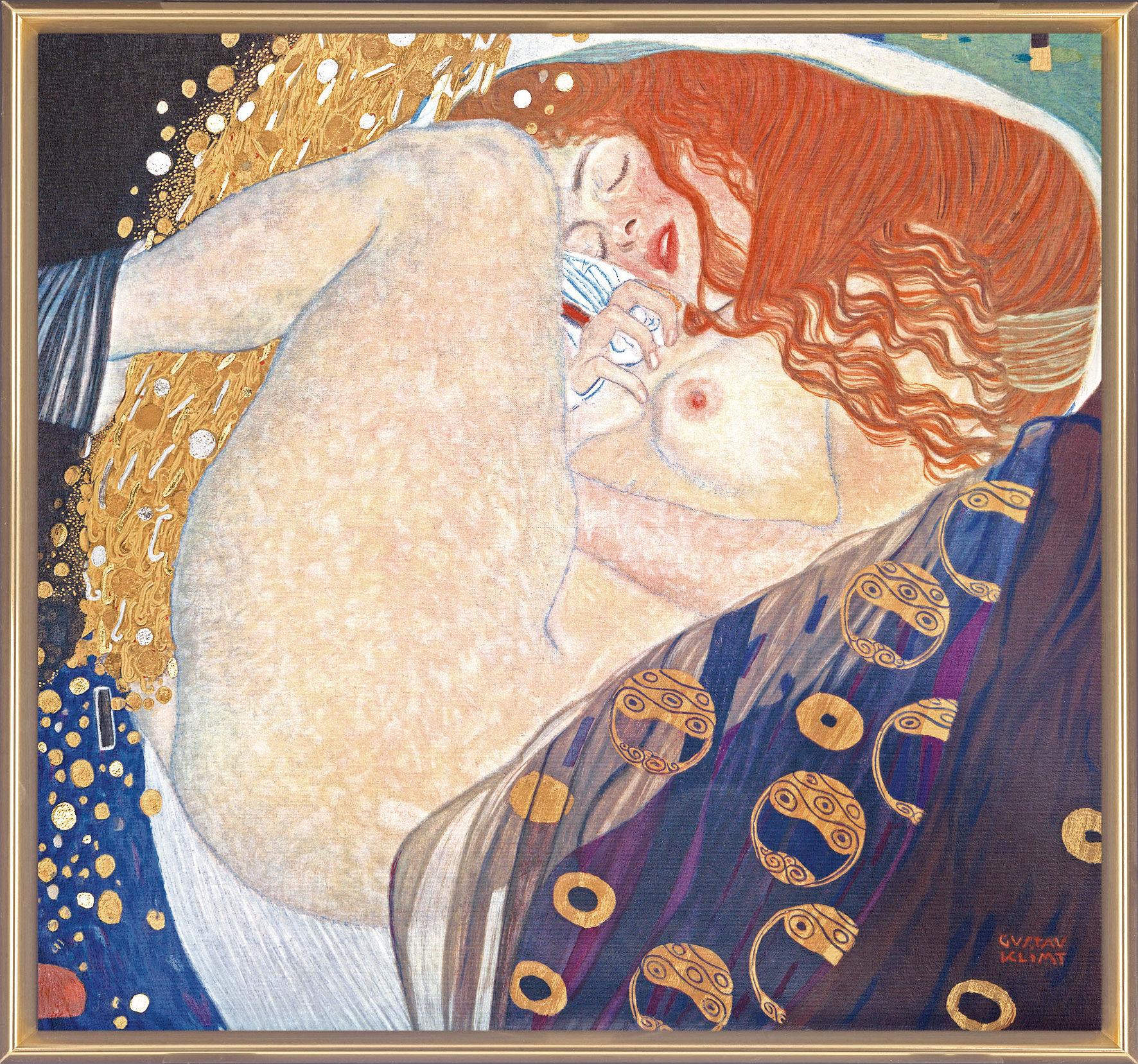 """Painting """"Danae"""" (1907)"""