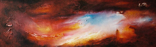 "Susann Ohlendorf: Bild ""Rainbow Valley"" (2007) (Original / Unikat), ungerahmt"