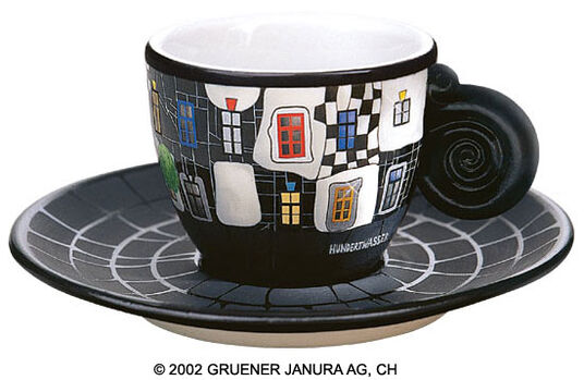 "Espresso Cup ""KunstHausWien"""