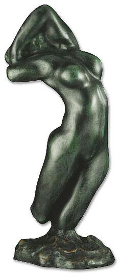 """Auguste Rodin: Skulptur """"Torso der Adele"""" (Reduktion), Kunstguss"""