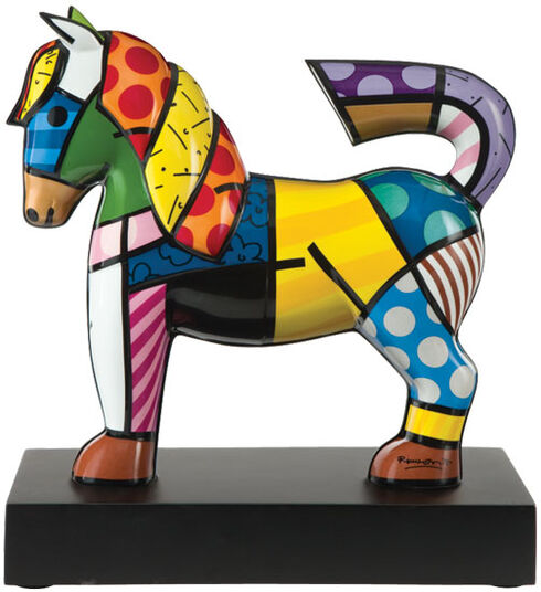 "Romero Britto: Porzellanskulptur ""Dancer"""