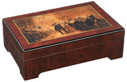 "Musical jewelry box ""The Fredrick the Great Flute Concerto "" - by Adolph von Menzel"