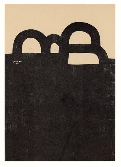 """Eduardo Chillida: Bild """"Chicago"""" (1983)"""
