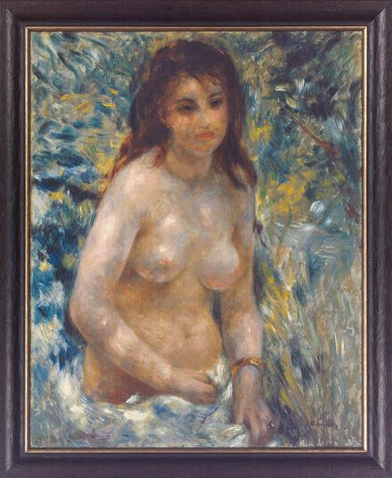 "Auguste Renoir: Bild ""Torse de femme"" (um 1875/76), gerahmt"