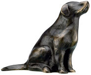 "Skulptur ""Retriever"" (2012), Bronze"