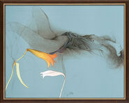 "Bild ""Sola"" (1987), gerahmt"