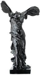 """Skulptur """"Nike von Samothrake"""", Kunstguss schwarz"""