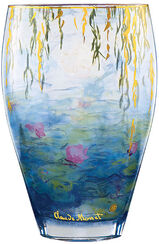 "vase ""Water Lilies"" (1916-1919) with gold decoration"