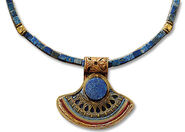 Lapis lazuli king's necklace