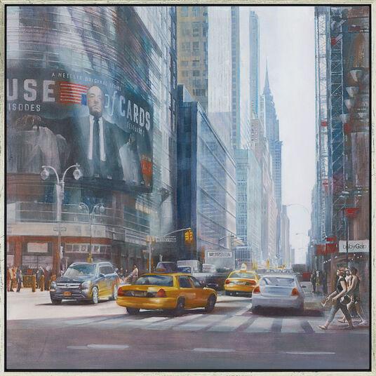 "Talantbek Chekirov: Bild ""Chrysler Building"", gerahmt"