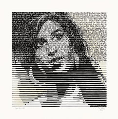 "Bild ""Amy and her drinks - Jack Daniel's"" (2014) (Unikat)"