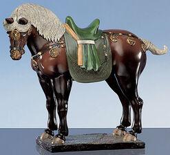 Three-colour Tang horse, brown