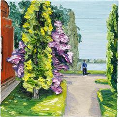 """Bild """"Neuer Garten, Kleines Fenster Heiliger See"""" (2015) (Unikat)"""